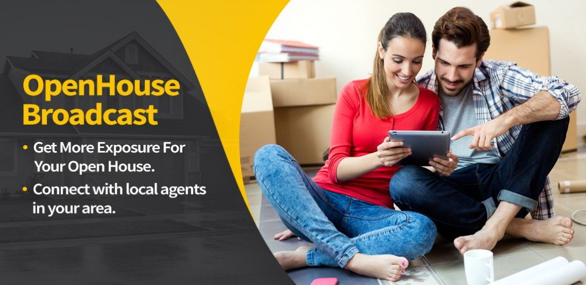 HOW DO I SEND OUT A MASS EMAIL TO REAL ESTATE AGENTS ABOUT AN OPEN HOUSE?